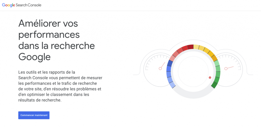 Search Console pour WordPress