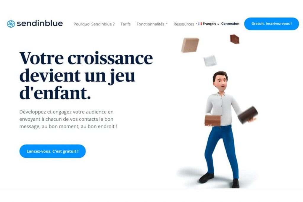 Sendinblue autorépondeur, CRM, marketing automation. Bons plans Web