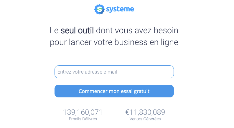 Bons plans Web. Systeme.io